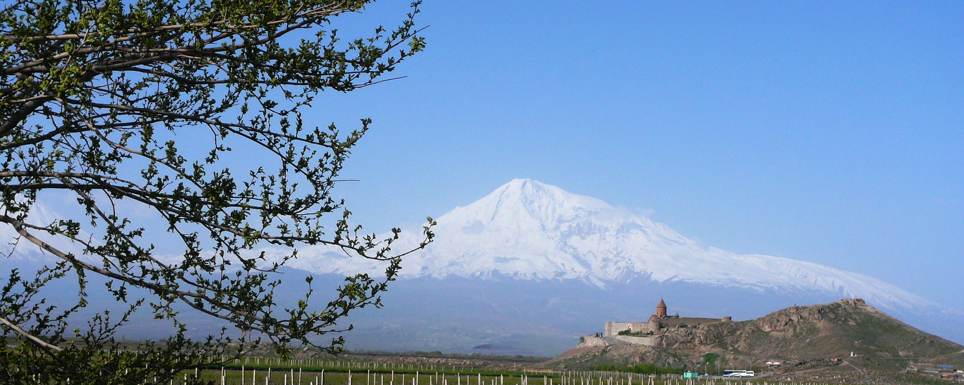 Berg Ararat und Kloster Chor Virap Armenien