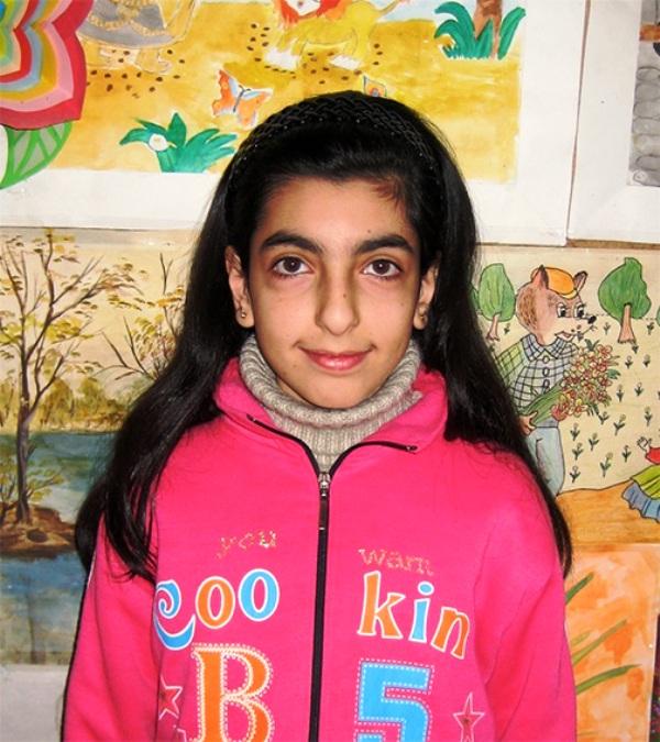 Die Kinderpatenschaft war für Gohar lebenswichtig